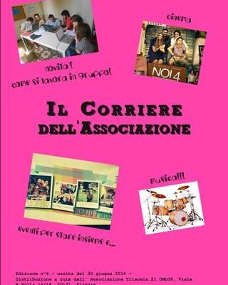 Copertina della sesta edizione del corriere