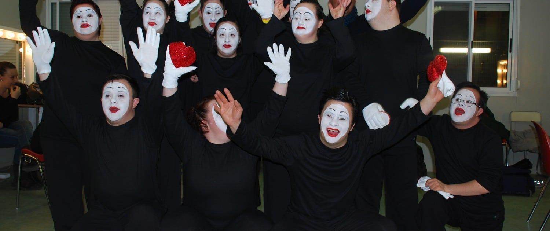 Foto del gruppo di teatro