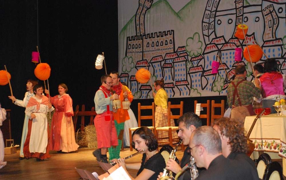 Foto da uno spettacolo