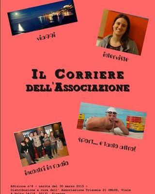 Copertina dell'ottava edizione del Corriere dell'Associazione
