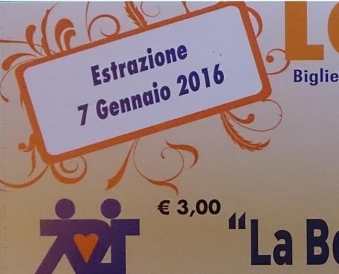 Biglietto Lotteria 2015