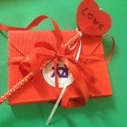 Cioccolata confezionata per San Valentino