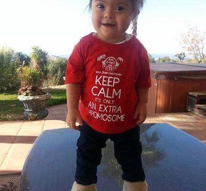 Bambina tshirt rossa