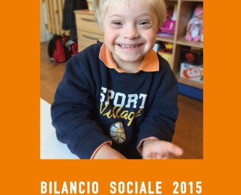 Copertina bilancio sociale 2015