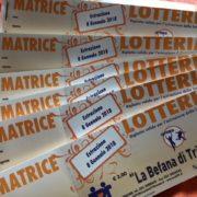 Biglietti Lotteria 2017