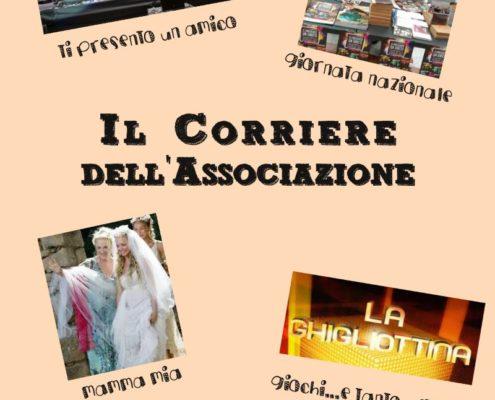 Copertina del sedicesimo numero del Corriere Associazione