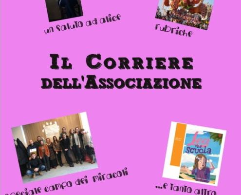 Copertina Corriere dell'associazione 20a edizione
