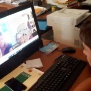 I ragazzi della consulta in videoconferenza
