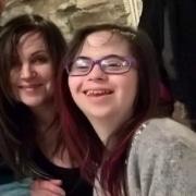 Antonella con la figlia Irene